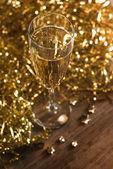Champagne setting. — Stock Photo