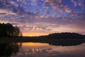 Sonnenaufgang. — Stockfoto
