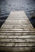 Wooden prier. — Stock Photo