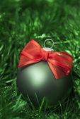 рождественские шары. — Стоковое фото