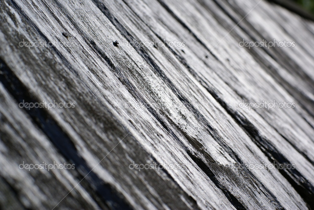 Wooden weathered roof background, shallow depth of field. — Stock Photo #1914154