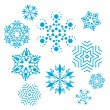 Royalty-Free Stock Vector Image: Vector set of snowflakes