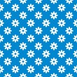 Royalty-Free Stock Imagen vectorial: Blue seamless floral background