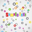 Royalty-Free Stock Vectorielle: Kid background