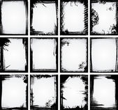 Grunge Frame Collection — Vector de stock