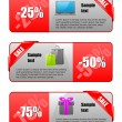 Stockvector : Sale banner