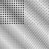Seamless steel background — Stock Vector