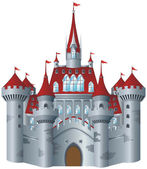 Fairy-tale castle — Stock Vector