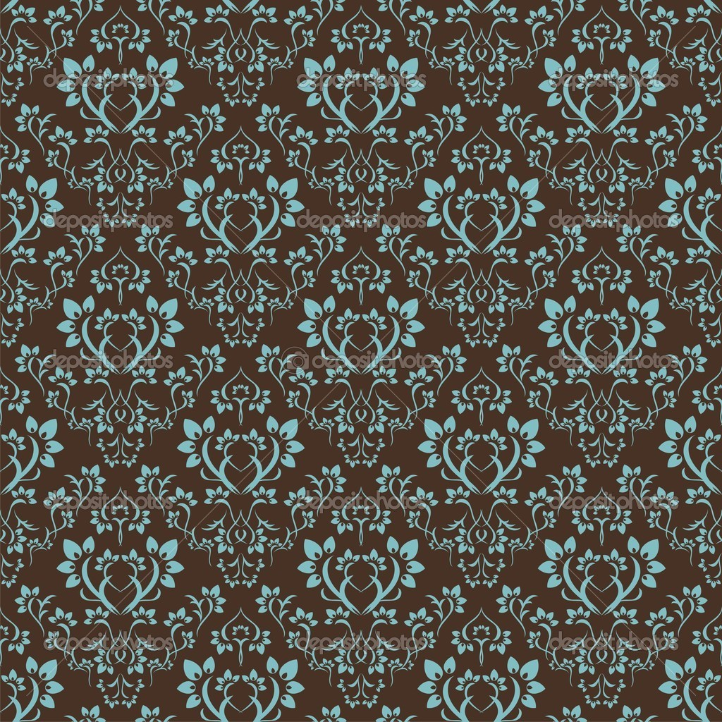 Seamless floral pattern. Nice to use as background. — ベクター素材ストック #2423329
