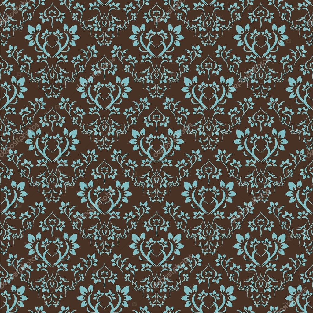 Seamless floral pattern. Nice to use as background. — Stockvectorbeeld #2423329