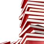 Isolated books — Stock Photo