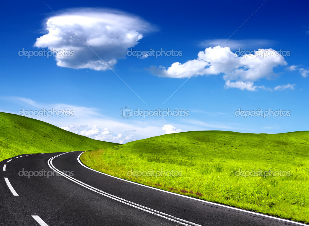 Mountain road — Stock Photo #1846803