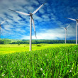 Wind energy - Foto Stock