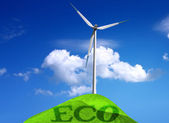 Environmental wind — Stock Photo