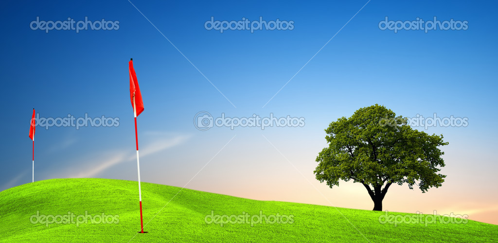 Golf field — Stock Photo #1884363