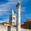 Church in center of city Zadar, Croatia — Stock Photo