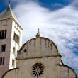 Foto de Stock  : St. Mary church in Zadar, Croatia