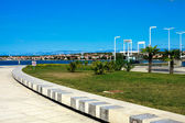 Adriatic seaside, Zadar — Stock Photo