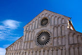 Cathedral of St. Anastasia, Zadar — Stock Photo