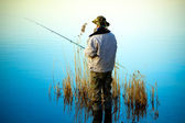 Fishing — Stockfoto