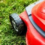 grasmaaier op het gras — Stockfoto