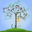 Vector de stock : Bible tree of knowledge