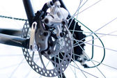 Bike brake disc — Stock Photo