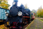 Old steam train — Stockfoto