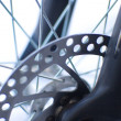 Royalty-Free Stock Photo: Bikes disk brakes