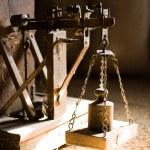 古代の体重計 — ストック写真