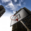 Street basketball table — Stock Photo