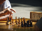 Chess match — Stock Photo