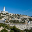 Cap de Formentor, lighthouse - Stock Photo