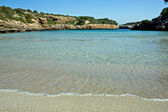 Sandy beach on Majorca — Stock Photo