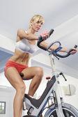 Dans la salle de gym — Photo