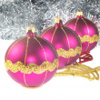 Christmas decoration bauble — Stock Photo