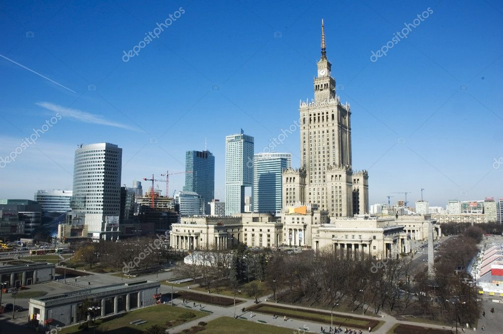 Warsaw - capital of Poland — Stock Photo #1947822
