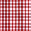 Detailed red picnic cloth — Foto Stock