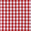 Stock Photo: Detailed red picnic cloth