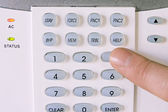 Home alarm system — Stock Photo