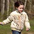 Stock Photo: Running child