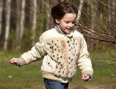 Running child — Stock Photo