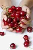 Sweet cherry — Stockfoto