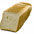 Toast bread slice - Foto Stock
