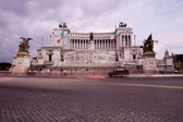 Vittorio Emanuele II Rome Italy — Stock Photo
