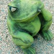 Stock Photo: Green frog is fountain
