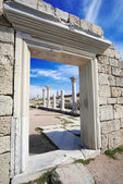 Ancient ruins in sevastopol — Stock Photo