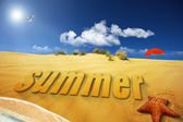 Summer — 图库照片