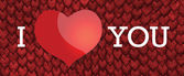 Eu te amo! — Foto Stock