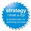 Strategy — Stock Vector